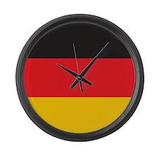 Germany Flag Large Wall Clock