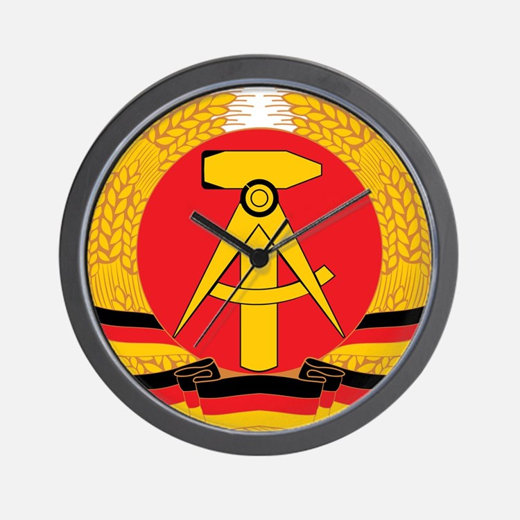 East Germany Wall Clock