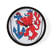 Dusseldorf Coat Of Arms Wall Clock