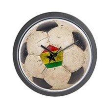 Ghana Football Wall Clock