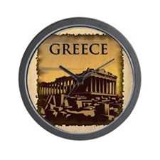 Vintage Greece Wall Clock