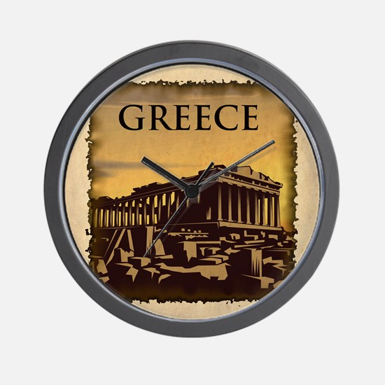 Vintage Greece Wall Clock