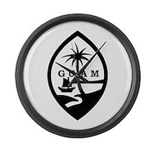 Guam Large Wall Clock