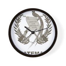 Vintage Guatemala Wall Clock