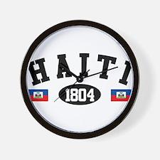 Haiti 1804 Wall Clock