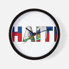 Haiti Wall Clock