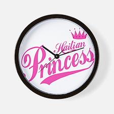 Haitian Princess Wall Clock