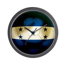 Honduras Football Wall Clock