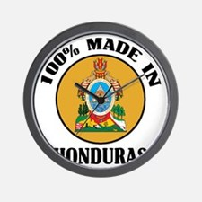 Made In Honduras Wall Clock