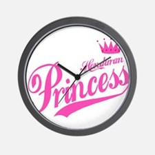 Honduran Princess Wall Clock