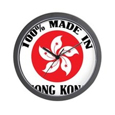 Made In Hong Kong Wall Clock