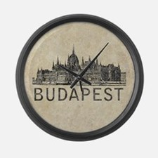 Budapest Large Wall Clock