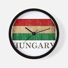 Vintage Hungary Wall Clock