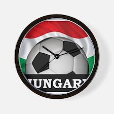 Hungary Football Wall Clock