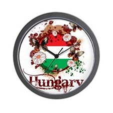 Butterfly Hungary Wall Clock