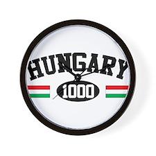 Hungary 1000 Wall Clock