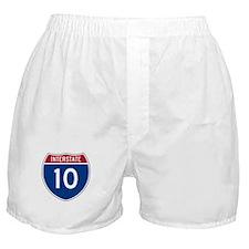 I-10 Highway Boxer Shorts