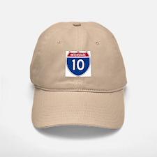 I-10 Highway Baseball Baseball Cap