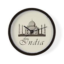 Retro India Taj Mahal Wall Clock