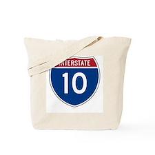 I-10 Highway Tote Bag