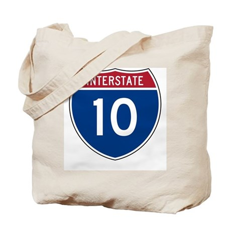 I-10 Highway Tote Bag