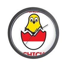 Indonesian Chick Wall Clock