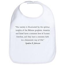 Lyndon B. Johnson Bib