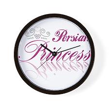 Persian Princess Wall Clock