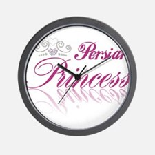 Persian Princess Wall Clock