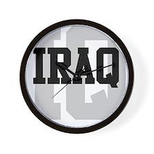 IQ Iraq Wall Clock