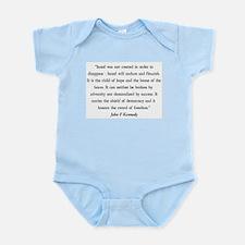 John F. Kennedy Infant Creeper