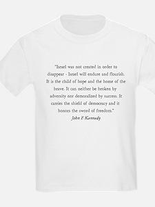 John F. Kennedy Kids T-Shirt