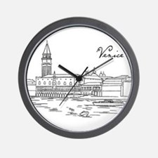 Vintage Venice Wall Clock