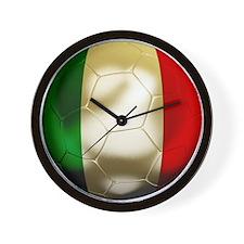 Italy Football Wall Clock