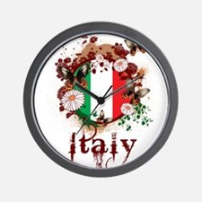 Butterfly Italy Wall Clock
