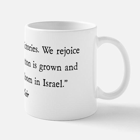 Golda Meir Mug