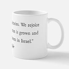Golda Meir Small Mugs