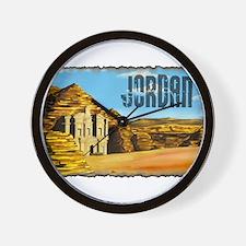 Vintage Jordan Art Wall Clock
