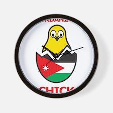 Jordanian Chick Wall Clock