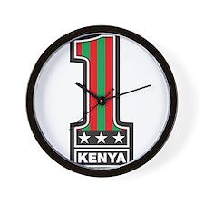 #1 Kenya Wall Clock