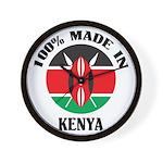 Made In Kenya Wall Clock