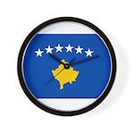Kosovo Flag Wall Clock