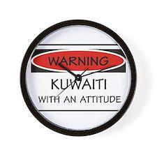 Attitude Kuwaiti Wall Clock