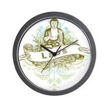 Buddha Laos Wall Clock