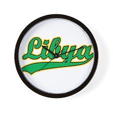 Retro Libya Wall Clock