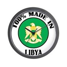 Made In Libya Wall Clock