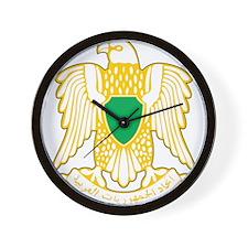 Libya Coat Of Arms Wall Clock