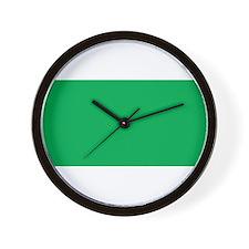 Libya Flag Wall Clock