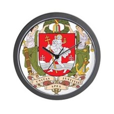 Vilnius Coat Of Arms Wall Clock