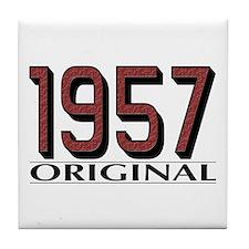 1957 Original Tile Coaster